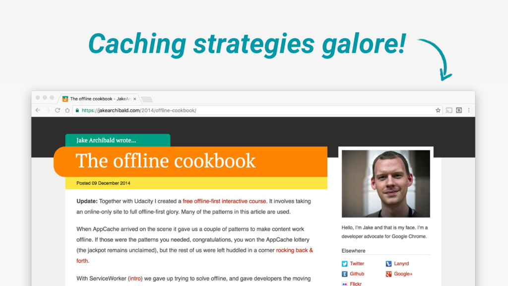 Caching strategies galore!