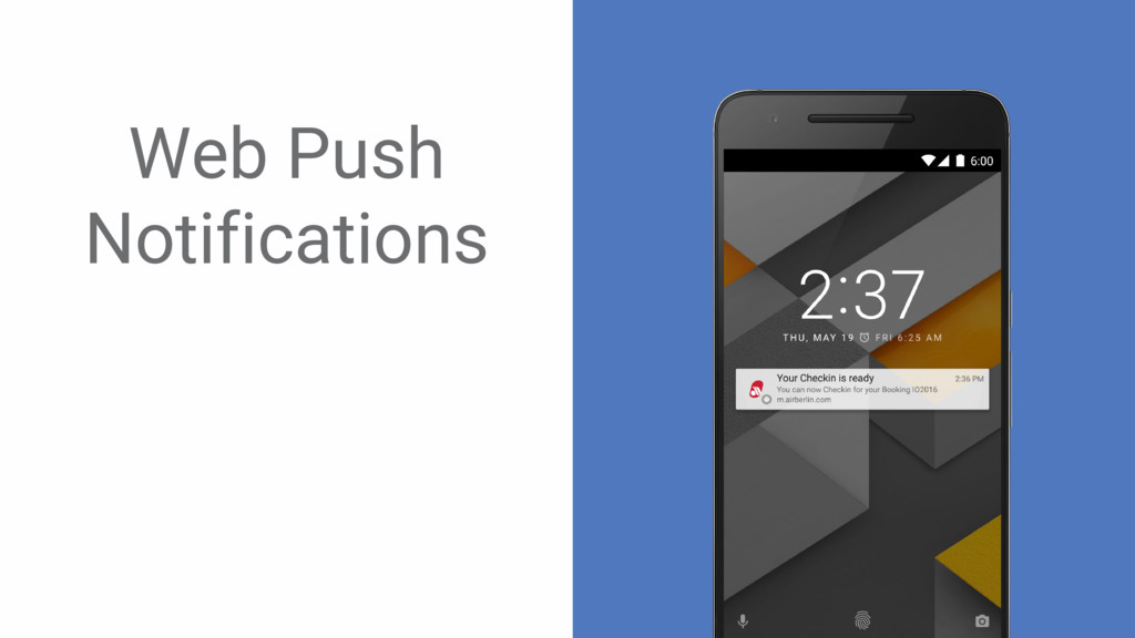 ` Web Push Notifications