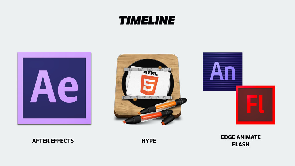 TIMELINE AFTER EFFECTS HYPE EDGE ANIMATE FLASH