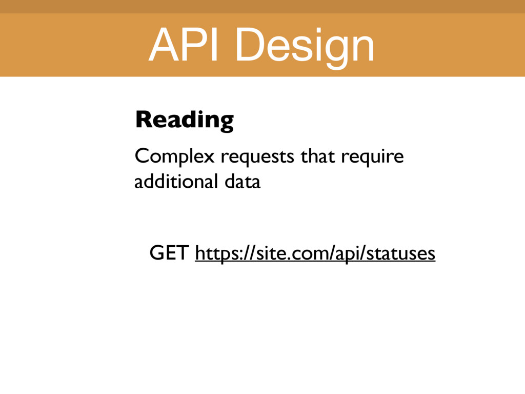 Title Title Reading Complex requests that requi...