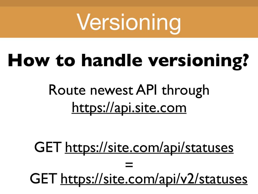 Title Title Route newest API through https://ap...