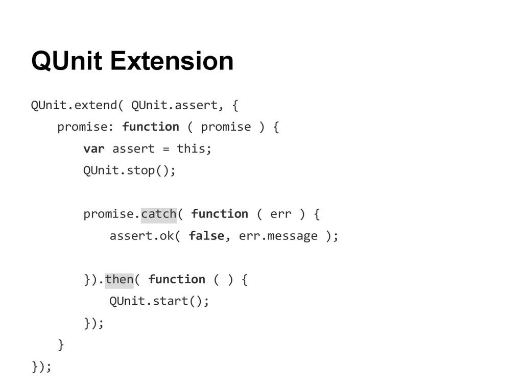 QUnit Extension QUnit.extend( QUnit.assert, { p...