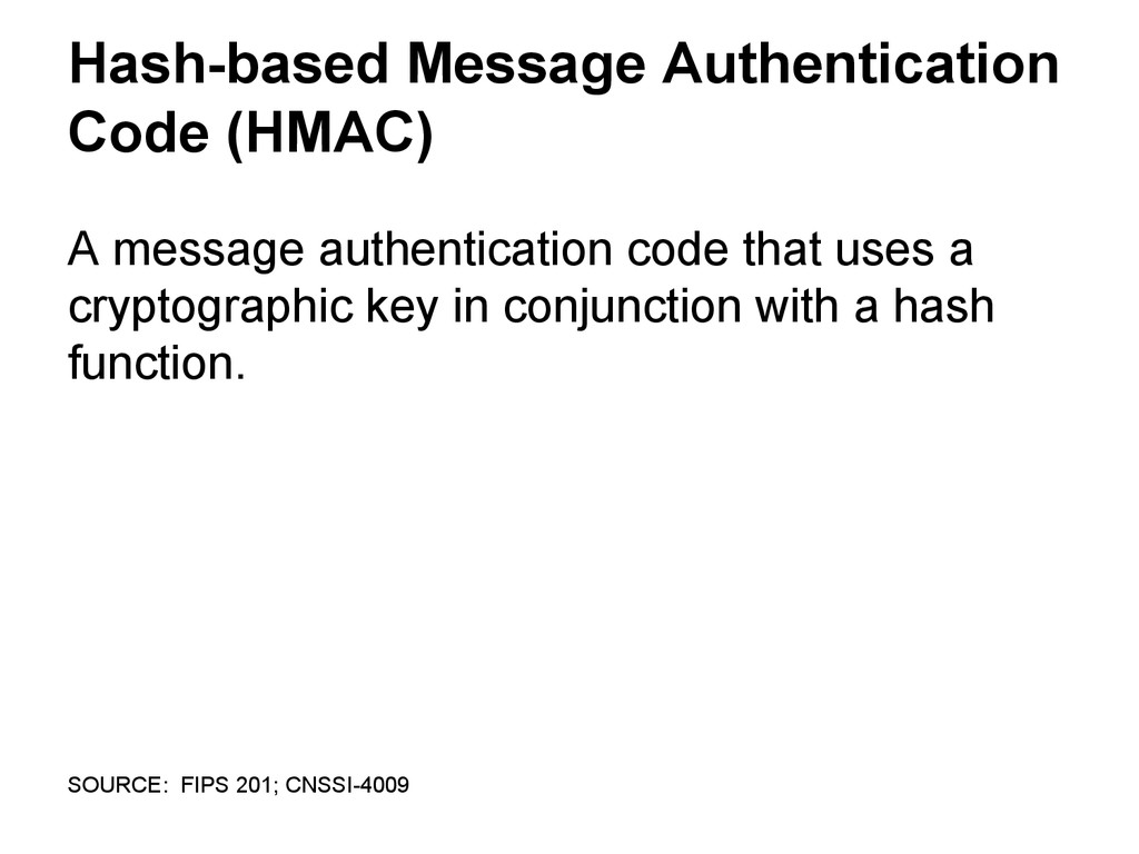 Hash-based Message Authentication Code (HMAC) A...