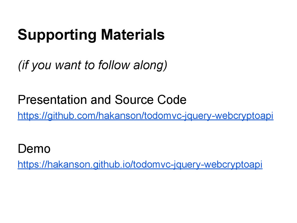 Supporting Materials (if you want to follow alo...