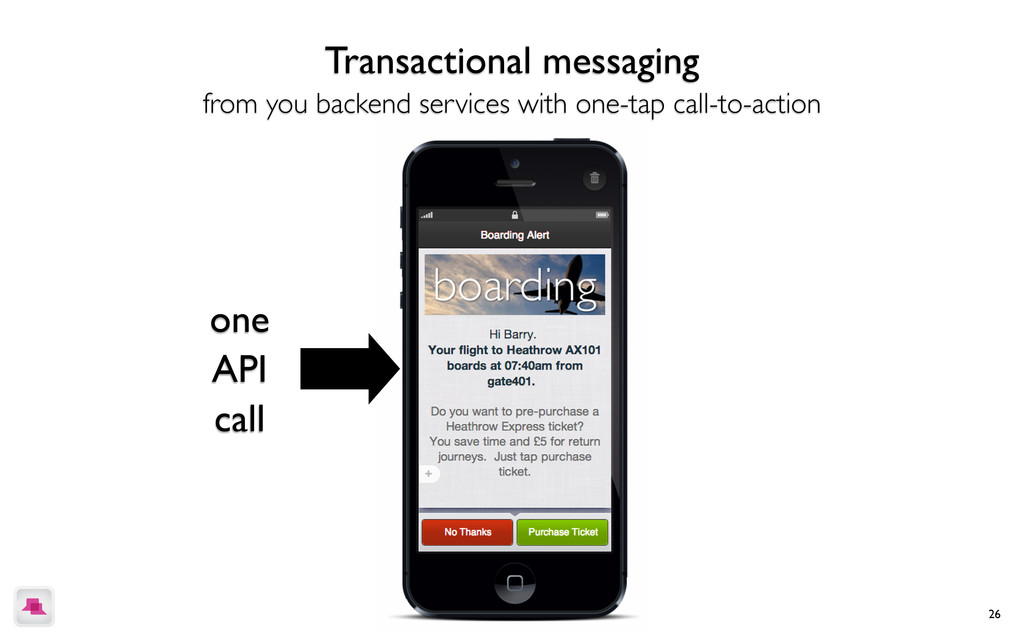 26 Transactional messaging from you backend ser...