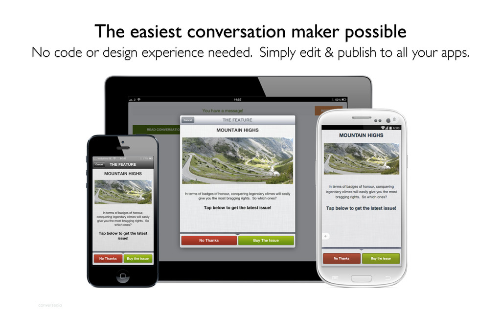 converser.io The easiest conversation maker pos...