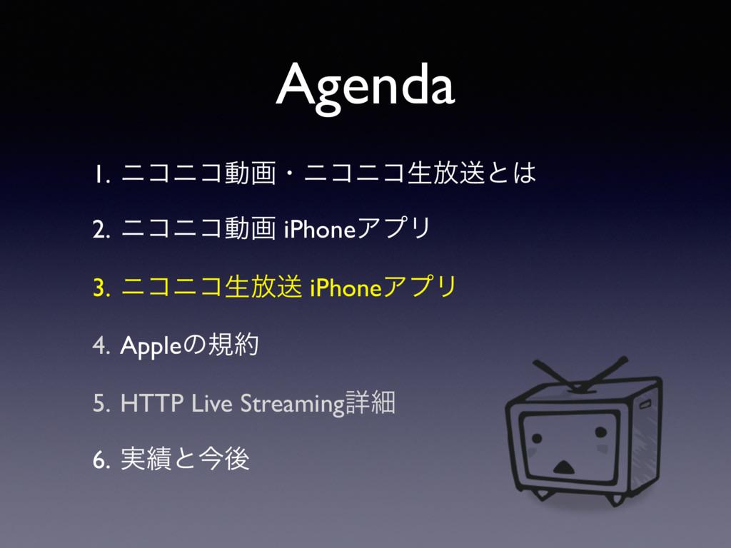Agenda 1. χίχίಈըɾχίχίੜ์ૹͱ 2. χίχίಈը iPhoneΞϓϦ ...