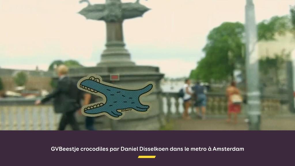 GVBeestje crocodiles par Daniel Disselkoen dans...