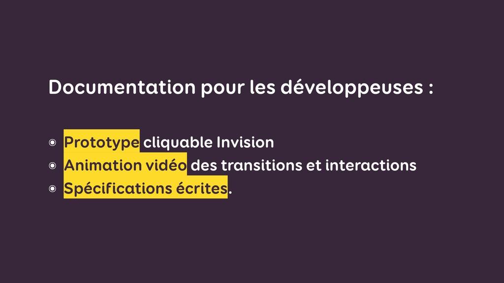 Documentation pour les développeuses : ๏ Proto...