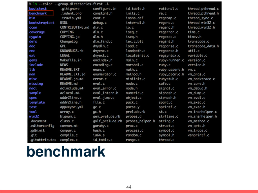benchmark 44