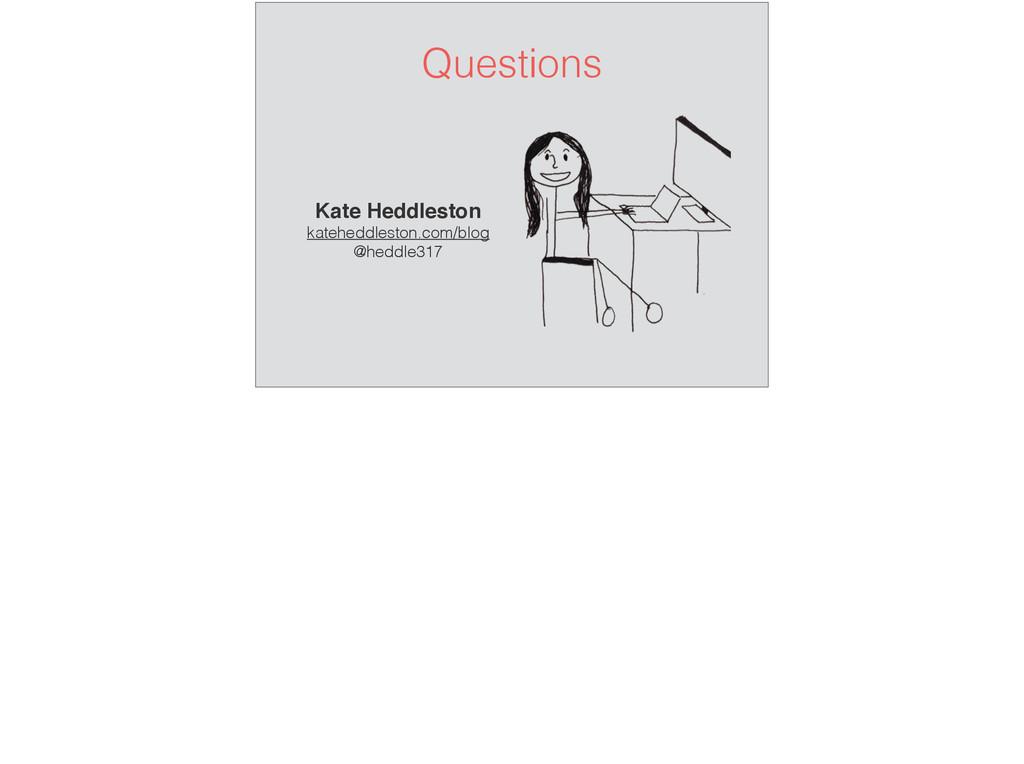 Questions Kate Heddleston kateheddleston.com/bl...