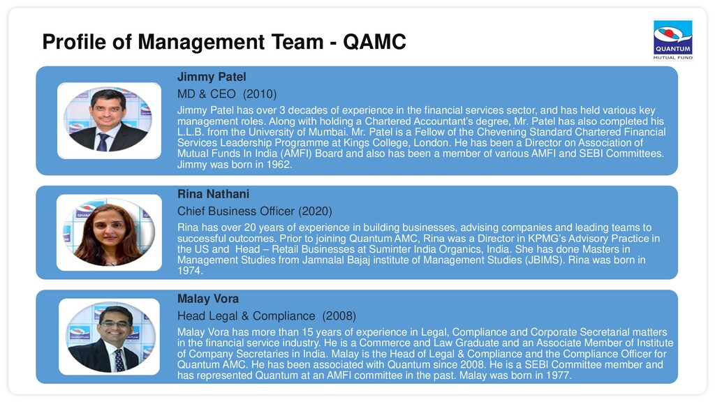 Jimmy Patel MD & CEO (2010) Jimmy Patel has ove...