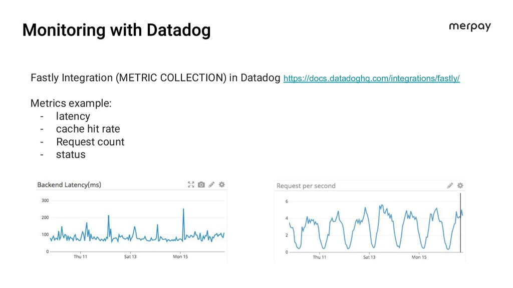 Fastly Integration (METRIC COLLECTION) in Datad...
