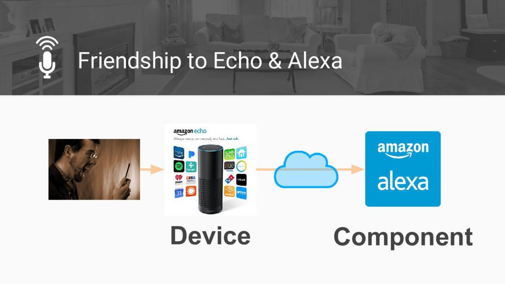 Friendship to Echo & Alexa Device Component