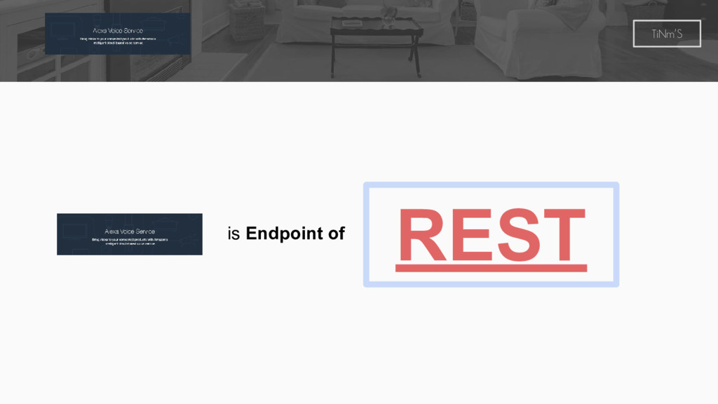 TiNm'S REST is Endpoint of