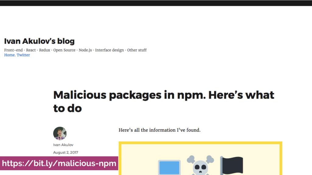 https:/ /bit.ly/malicious-npm