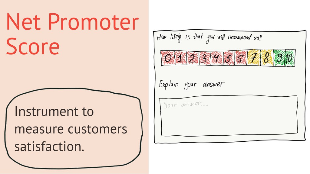 Net Promoter Score Instrument to measure custom...