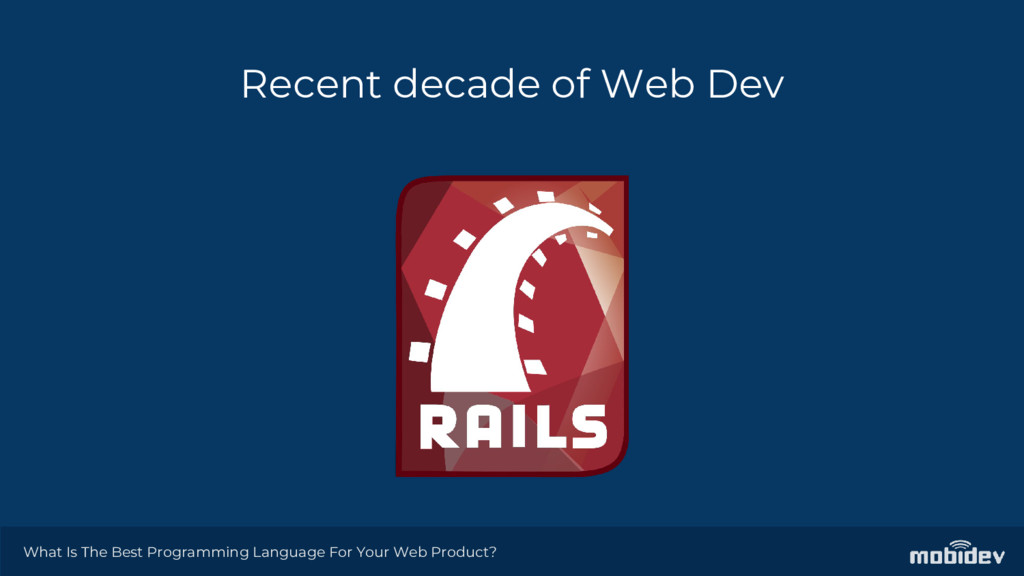 Recent decade of Web Dev What Is The Best Progr...