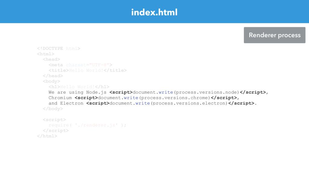 index.html <!DOCTYPE html> <html> <head> <meta ...
