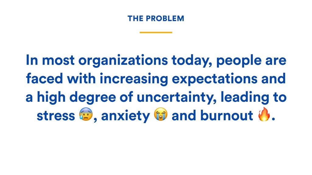 In most organizations today, people are faced w...