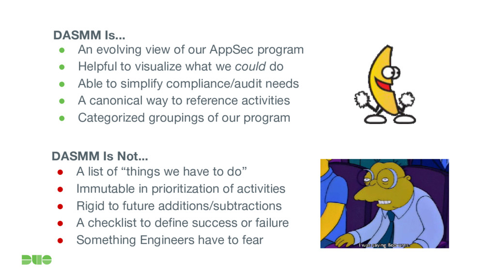 ● An evolving view of our AppSec program ● Help...