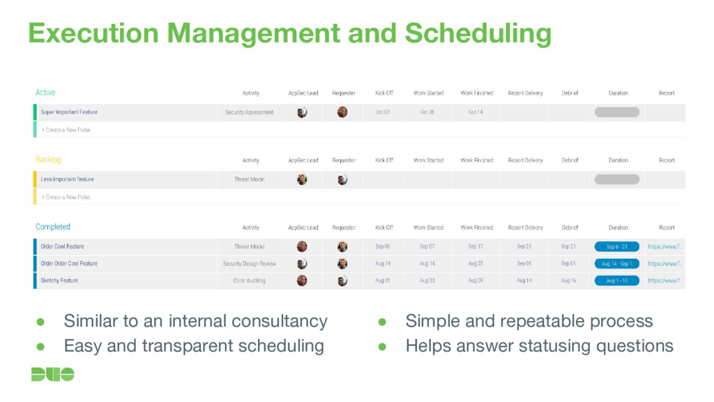 Execution Management and Scheduling ● Similar t...