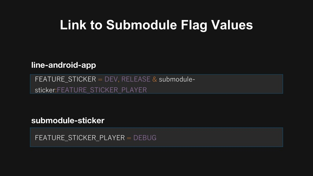 Link to Submodule Flag Values &, - B = B A: &, ...