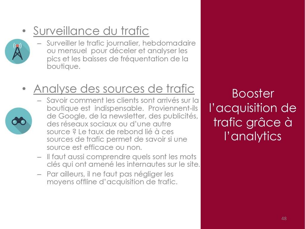 Booster l'acquisition de trafic grâce à l'analy...