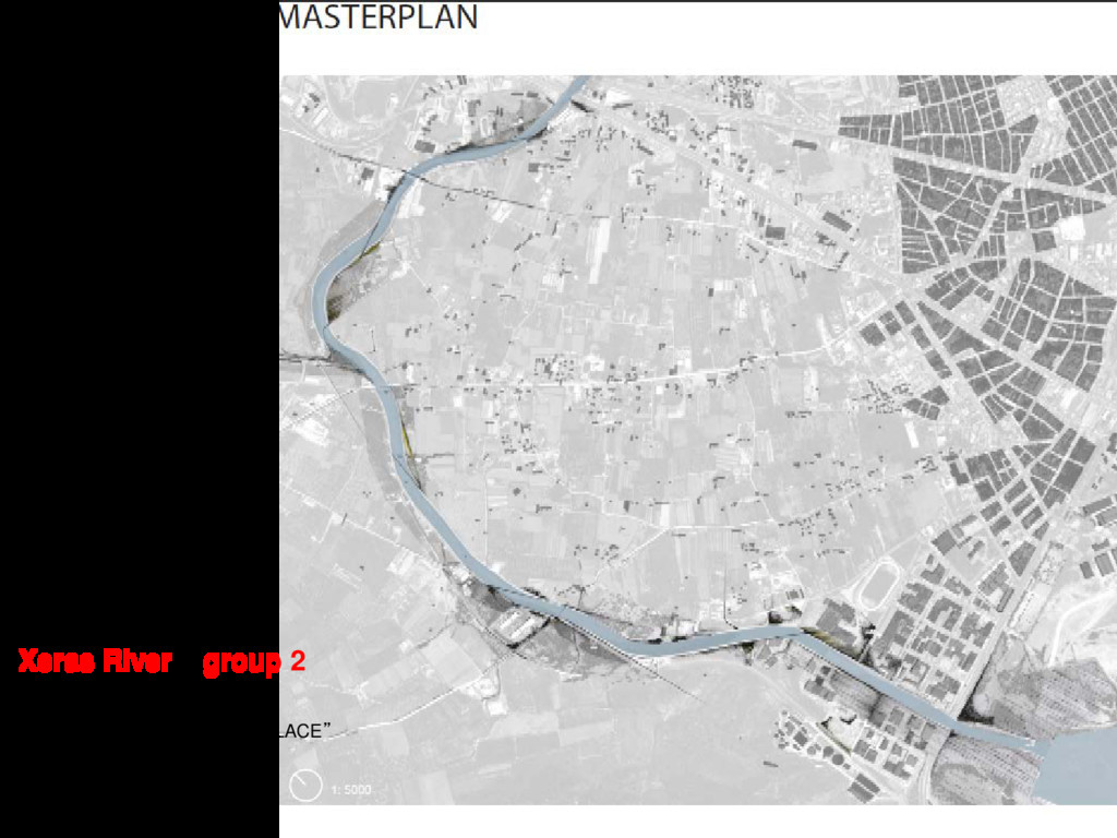 """Xeras River group 2 FROM """"NON-PLACE"""" TO """"PLACE"""""""