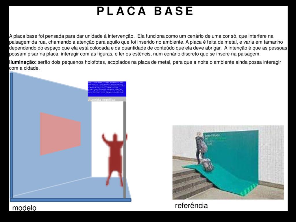 P L A C A B A S E A placa base foi pensada para...