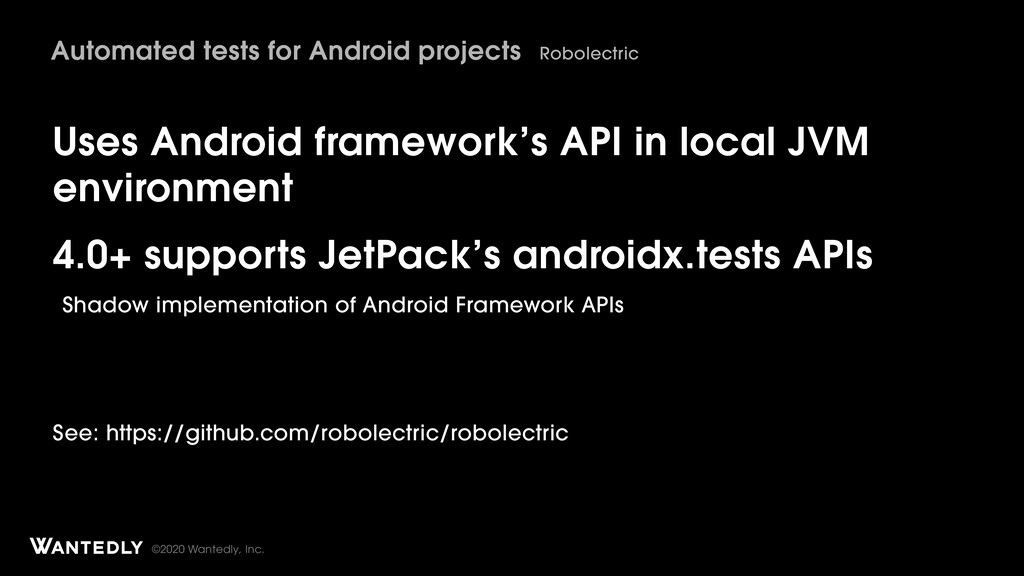 ©2020 Wantedly, Inc. Uses Android framework's A...