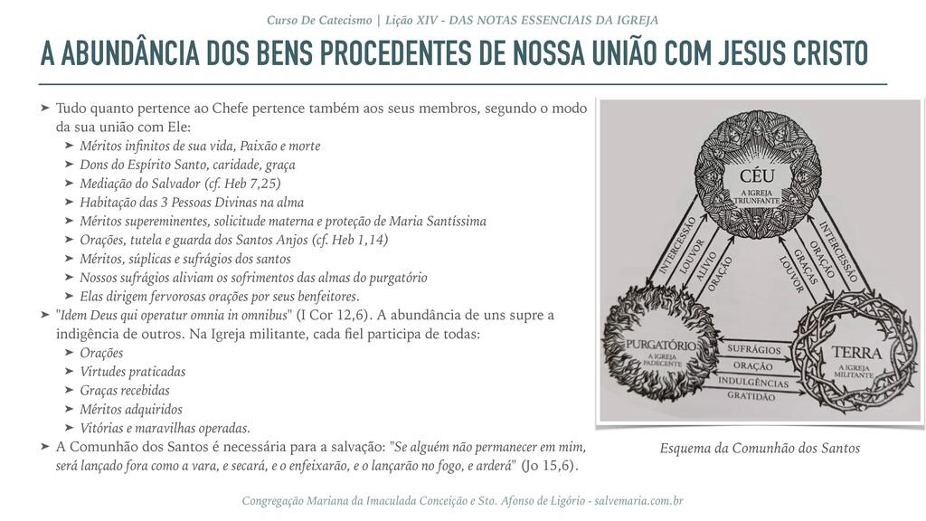 A ABUNDÂNCIA DOS BENS PROCEDENTES DE NOSSA UNIÃ...