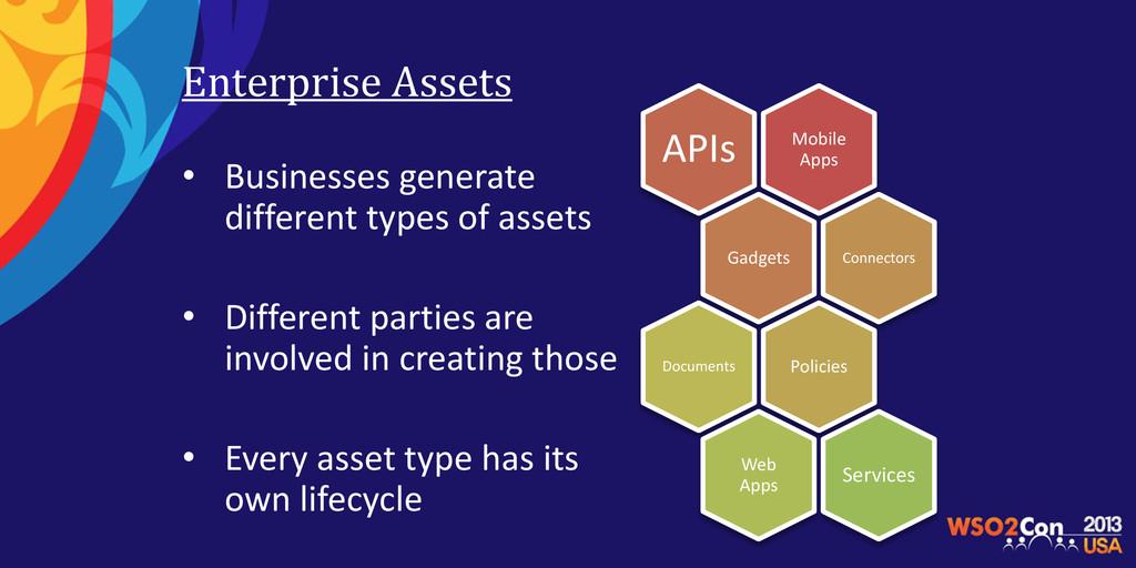 Mobile Apps APIs Gadgets Connectors Policies Do...