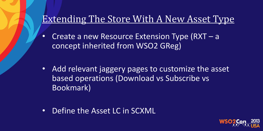 Extending The Store With A New Asset Type • Cre...
