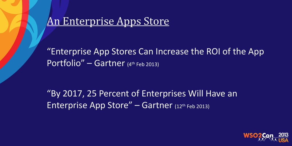 """An Enterprise Apps Store """"Enterprise App Stores..."""