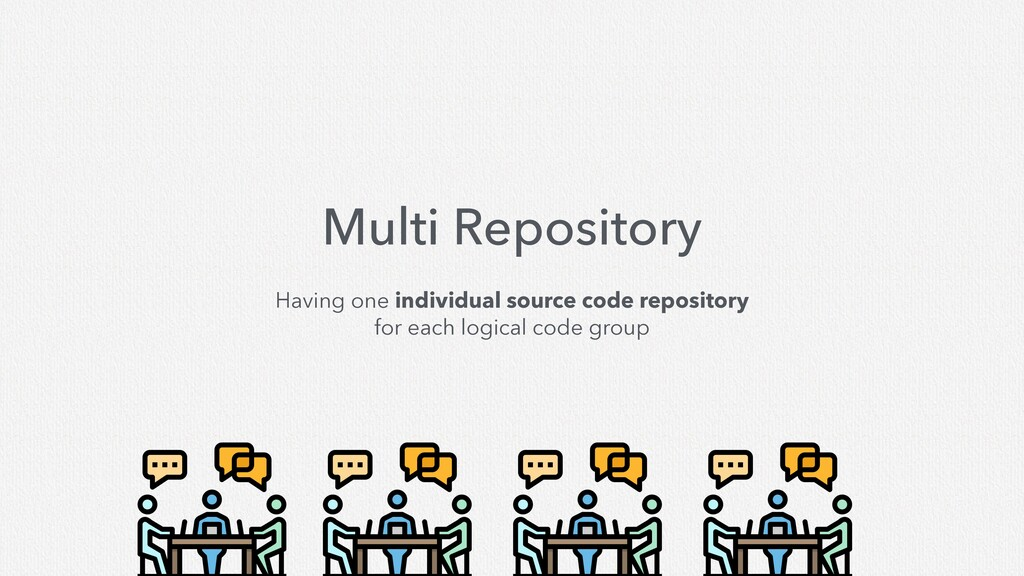 Multi Repository Having one individual source c...