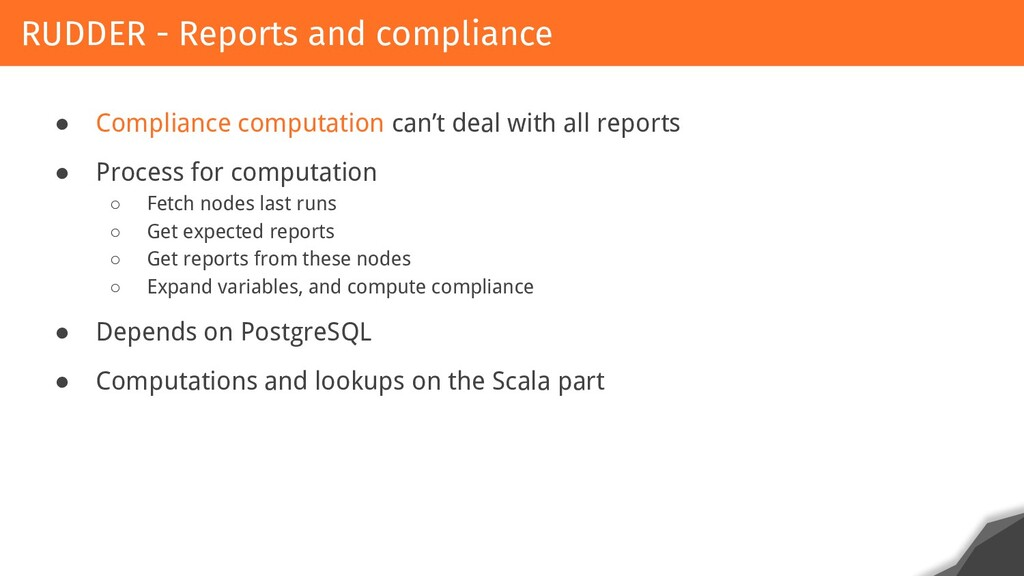 ● Compliance computation can't deal with all re...
