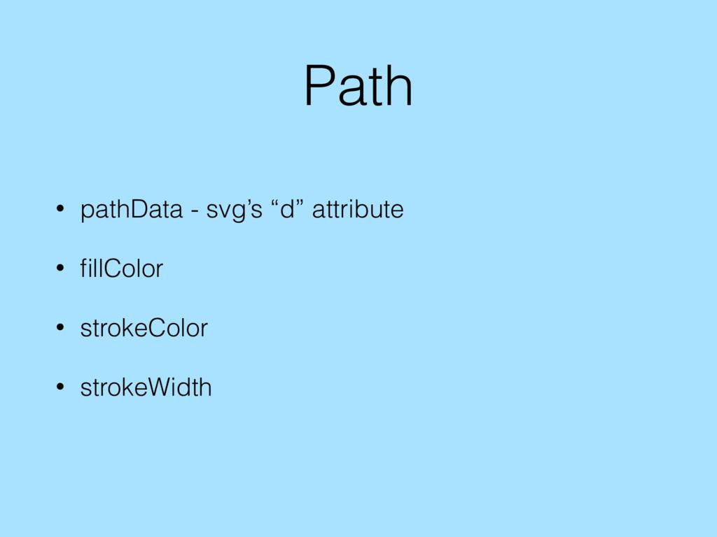 """Path • pathData - svg's """"d"""" attribute • fillColo..."""