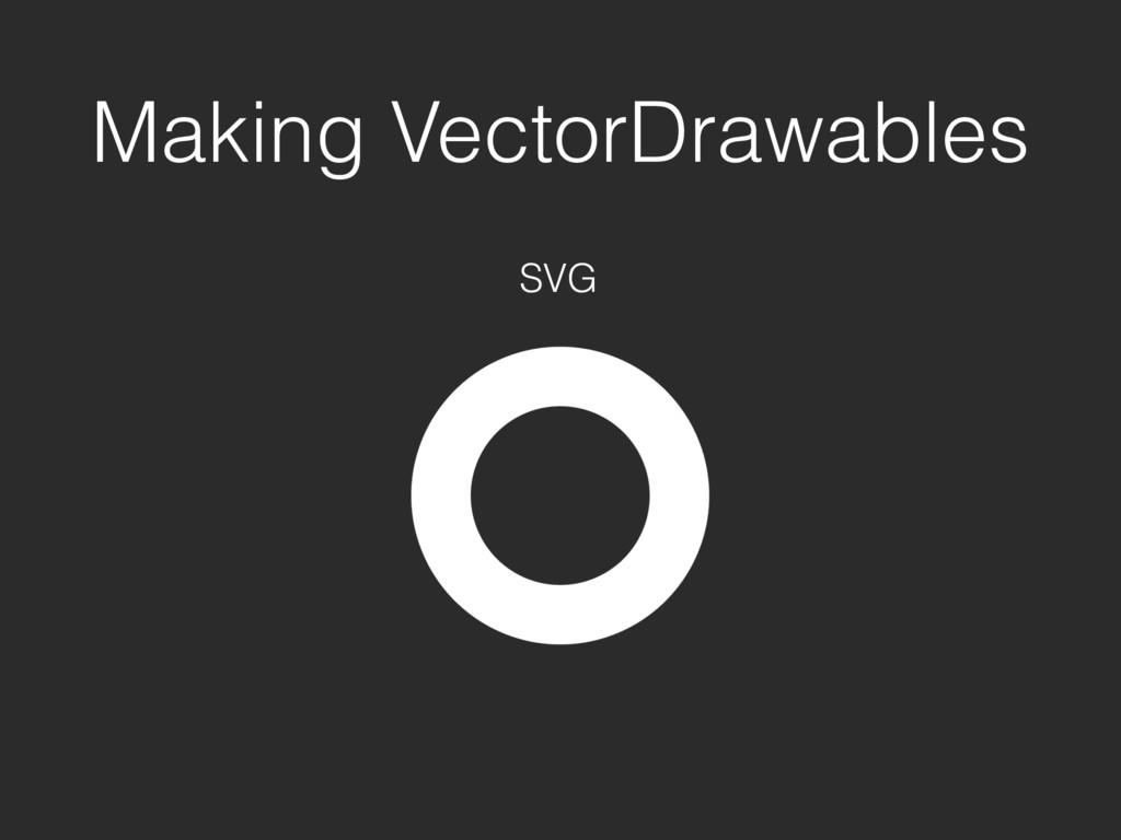 Making VectorDrawables SVG
