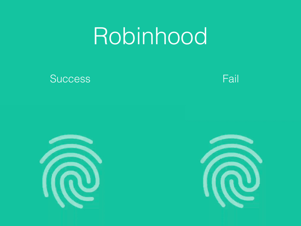 Robinhood Success Fail