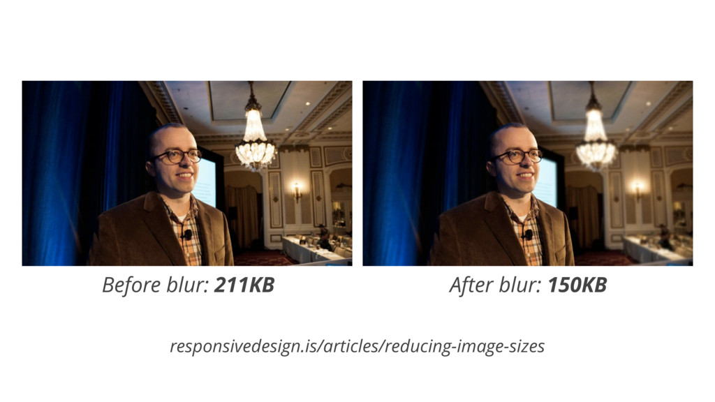 Before blur: 211KB After blur: 150KB responsive...