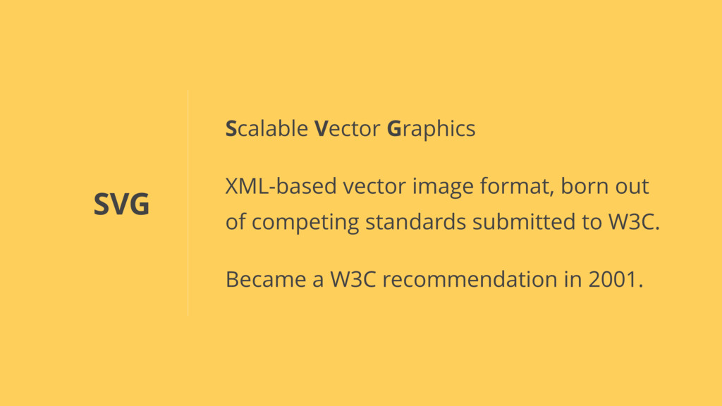 SVG Scalable Vector Graphics XML-based vector i...