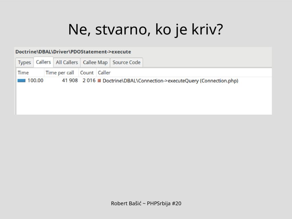 Robert Bašić ~ PHPSrbija #20 Ne, stvarno, ko je...
