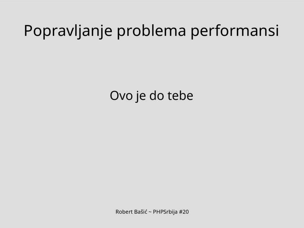 Robert Bašić ~ PHPSrbija #20 Popravljanje probl...