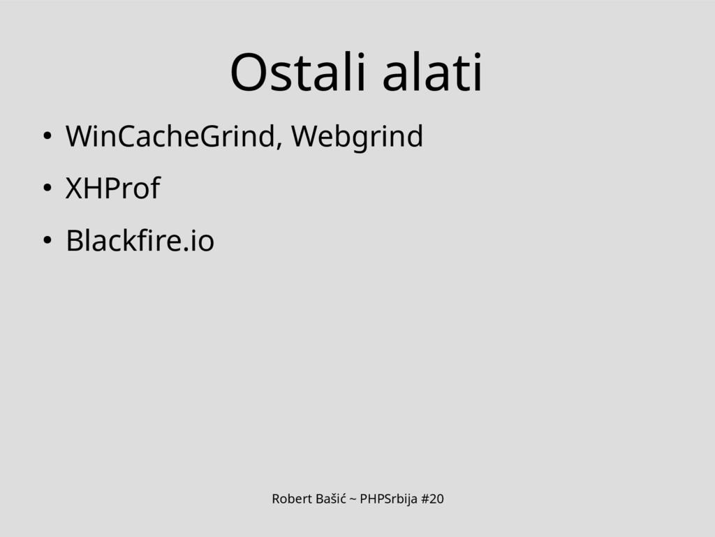 Robert Bašić ~ PHPSrbija #20 Ostali alati ● Win...