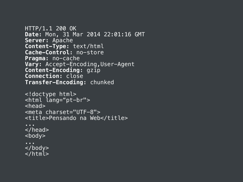 HTTP/1.1 200 OK Date: Mon, 31 Mar 2014 22:01:16...