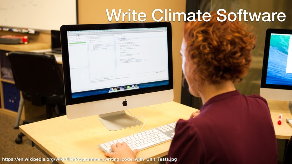 Write Climate Software https://en.wikipedia.org...