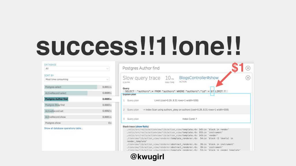 @kwugirl success!!1!one!! $1