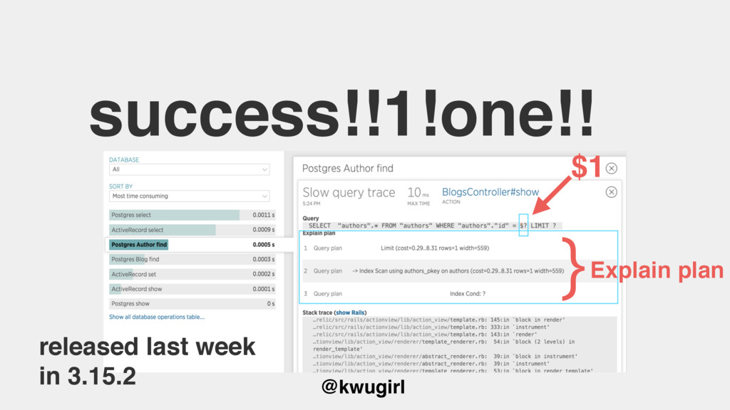 @kwugirl success!!1!one!! released last week in...